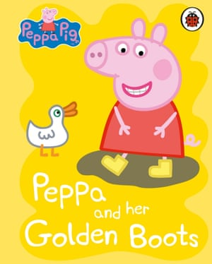 Peppa and her Golden Boots is the only book in the top 100 to feature a lone female villian, a duck who steals Peppa's boots.