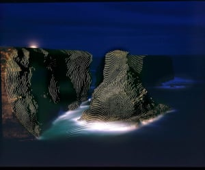Jim Sanborn (American, b. 1945), <em>Kilkee County Clare, Ireland</em>, 1997. Large-format projection, digital print, 30 × 36 in. (76.2 × 91.4 cm). Courtesy of the artist.