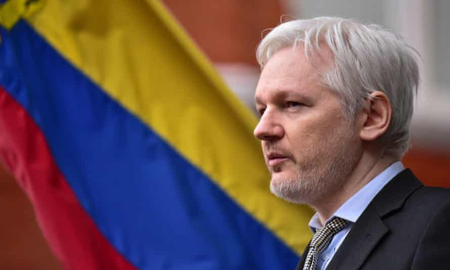 Julian Assange has been living at the Ecuadorean embassy in London for more than four years.