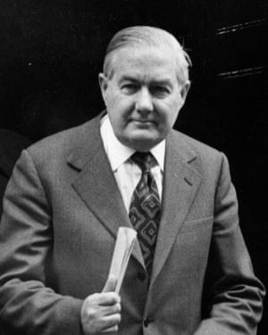 The prime minister, James Callaghan, in 1976.