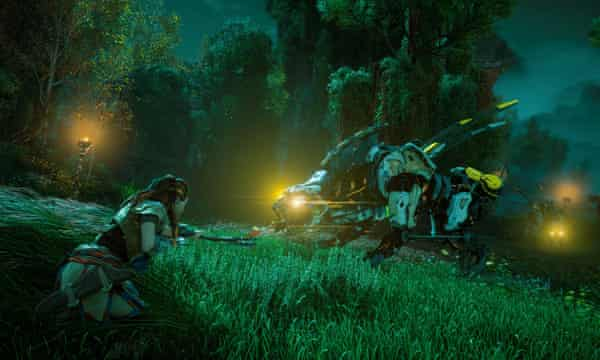 Horizon Zero Dawn The Feminist Action Game We Ve Been Waiting For Games The Guardian