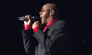 Frankie Paul performing at Columbia University, New York, in 2005.