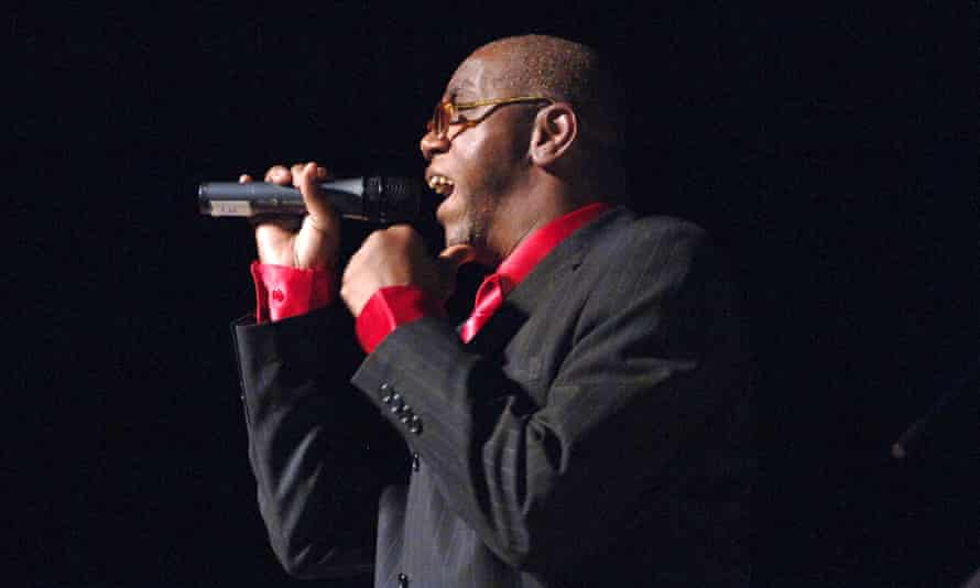 Frankie Paul performing at Columbia University, New York, in 2005.