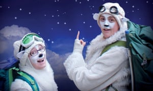 The Polar Bears Go Up, Pleasance at EICC, Edinburgh fringe festival 2017.