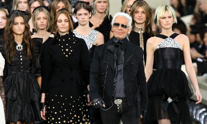 Karl Lagerfeld Obituary Fashion The Guardian