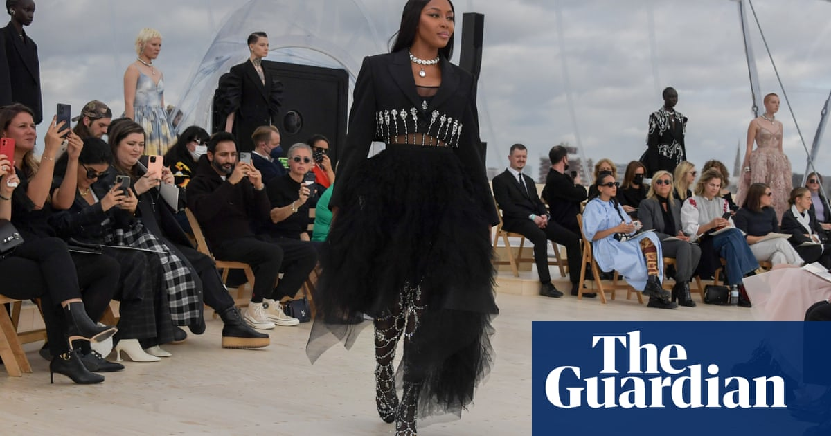 'Darkness and light': Alexander McQueen fashion house comes home to London