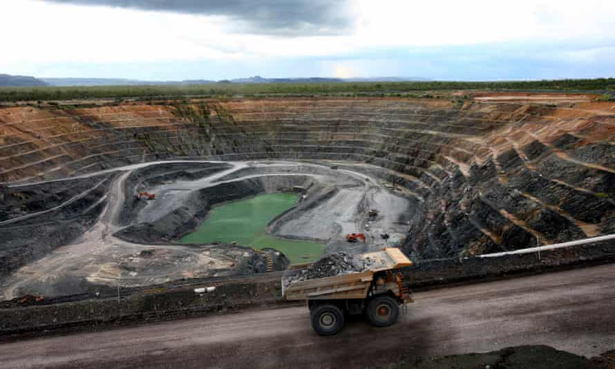 The Ranger uranium mine in Australia's Northern Territory