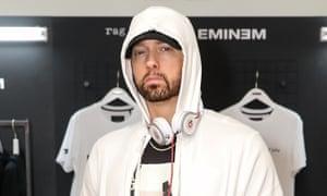 Record breaker ... Eminem.