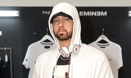 Eminem breaks 36-year-old UK chart record for most consecutive No 1 albums