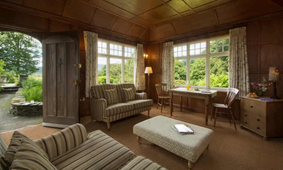 'Glorious views down to Windermere': The Summer House, Hawkshead, Cumbria.