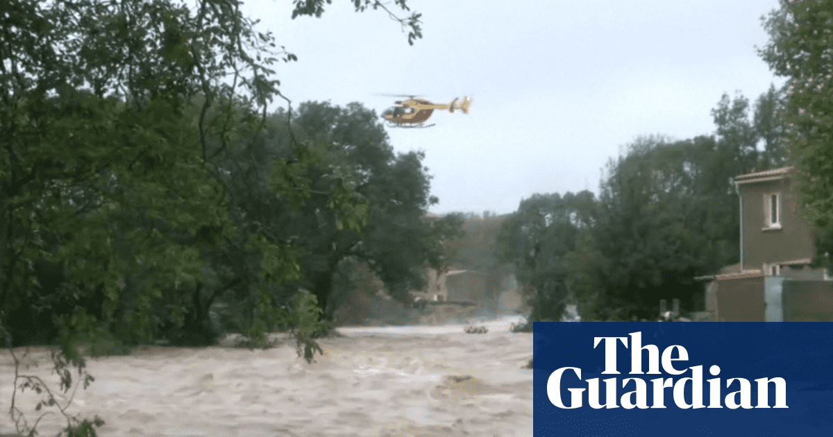 Deadly floods sweep through south-west France – video