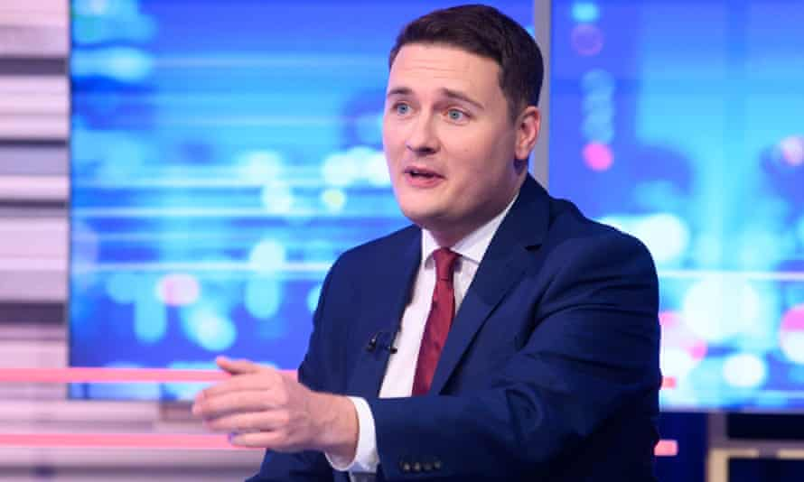 Wes Streeting will eventually take a leading role in the new group, Progressive Britain.
