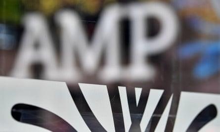 AMP Bank signage