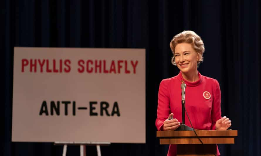 A woman who was an out-and-out misogynist … Blanchett as Phyllis Schlafly.