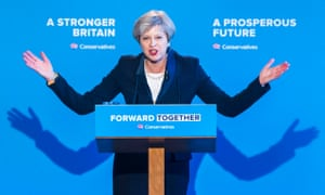 May at the election manifesto launch in Halifax.