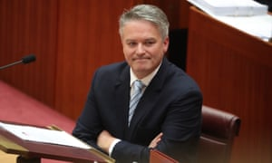 Mathias Cormann announced the government would make a tactical retreat from its corporate tax cut legislation.