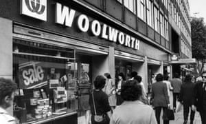 'Lost in the high street' ... Woolworths, Holborn, London, September 1982.