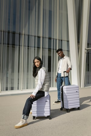 Staycation style Mini breaks are officially back! Jazz up your overnight stay with a pastel-hued suitcase. Available in three sizes from 37L to 121L capacity, with a 10-year warranty. Cabin case, £149, antler.co.uk