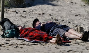 'Britain has many quaint bank holiday rituals, such as lying on the beach when the wind-chill is close to freezing.'