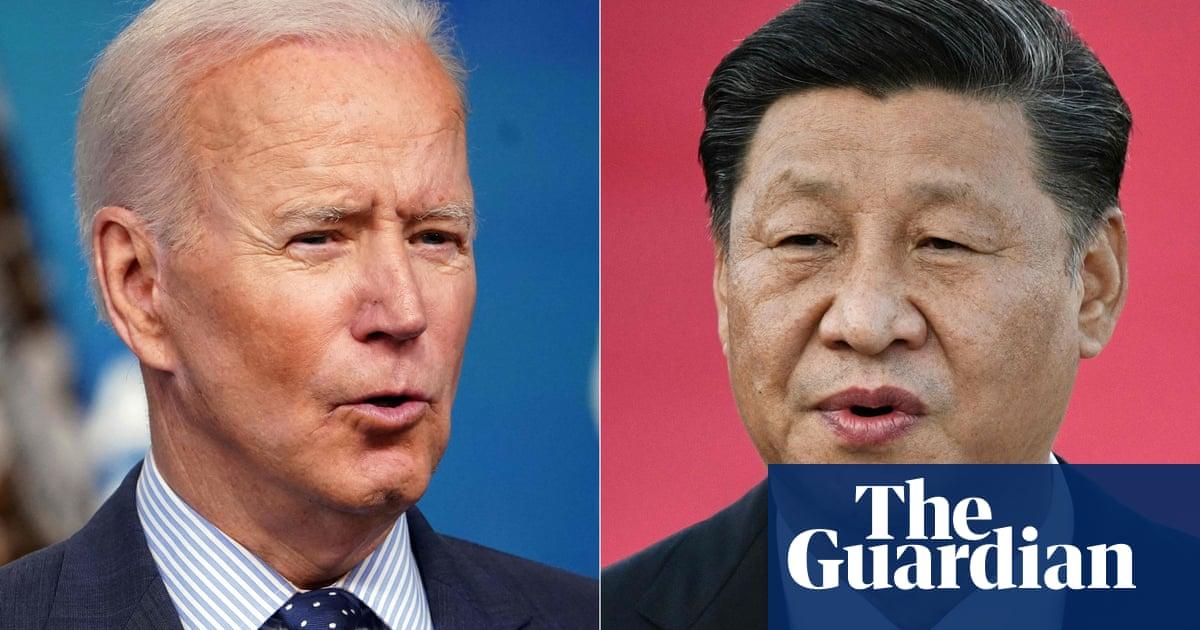 Joe Biden and Xi Jinping to hold virtual meeting this year – White House