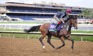 Highland Reel has looked impressive during morning workouts in California.