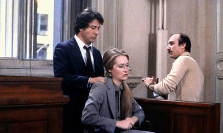 Dustin Hoffman with Meryl Streep in Kramer vs Kramer