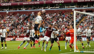 Everton's Lucas Digne deflects the corner into his own net.