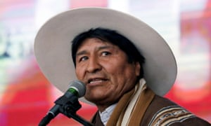 Morales said: 'Indigenous peoples will promote respect and integration. We all have the same rights because we are children of the same Mother Earth.'