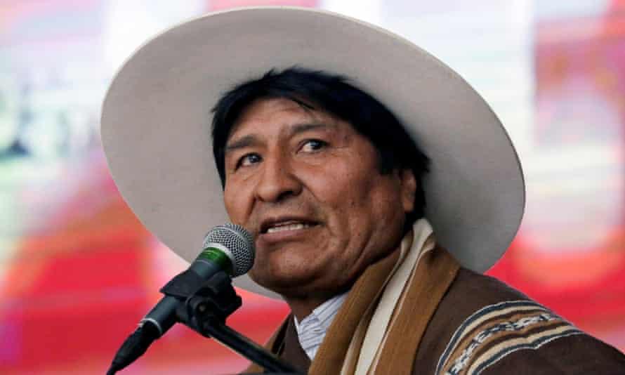 Bolivia's president Evo Morales is expected to attend Bolsonaro's inauguration.