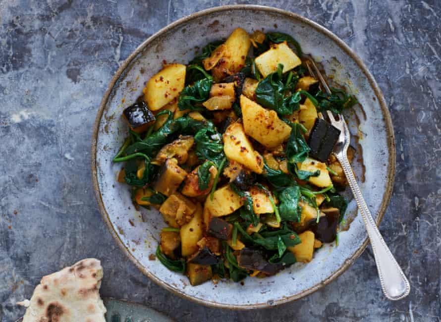 Vegan Aloo Saag by Meera Sodha.