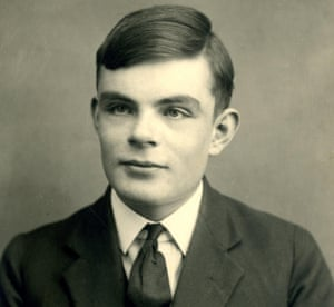 Alan Turing aged 16 in 1928. A section of Sentences' libretto uses a letter he wrote to his mother about the death of his schoolfriend Christopher Morcom.