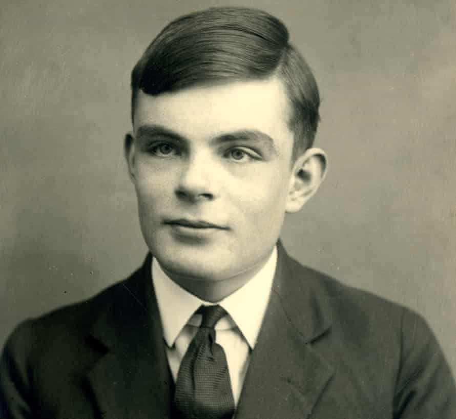 Alan Turing at school in Dorset, south-west England, aged 16 in 1928.