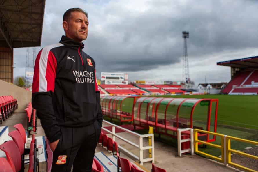 Scott Lindsey at Swindon Football Club