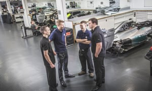 Revved-up to go: Mercedes-Benz has doubled its new apprentices over the past four years.
