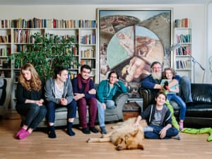 The Jellinek family with Syrian Muslim Kinan