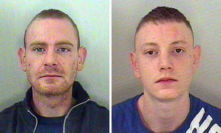 Police picture of drug-dealing brothers Daniel and Samuel Sledden