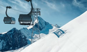 New lift, the Kitzsteinhorn 3K.
