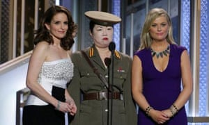 Tina Fey, Margaret Cho, and Amy Poehler.
