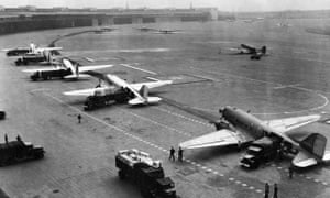Templehof Airport during the Berlin Airlift.