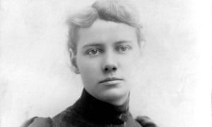 Portrait of American journalist Nellie Bly, 1890.