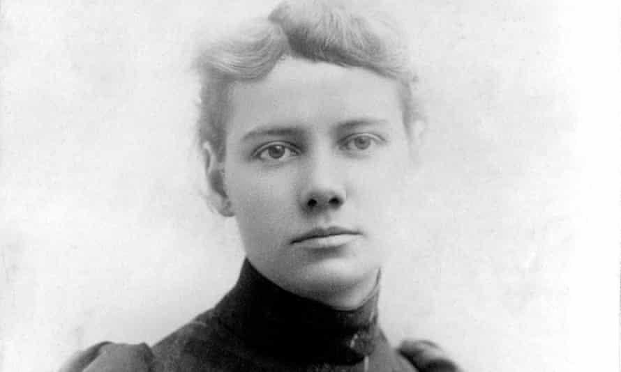 Portrait of American journalist Nellie Bly, 1890.