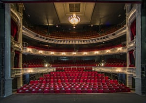 800 years on ... York Theatre Royal auditorium