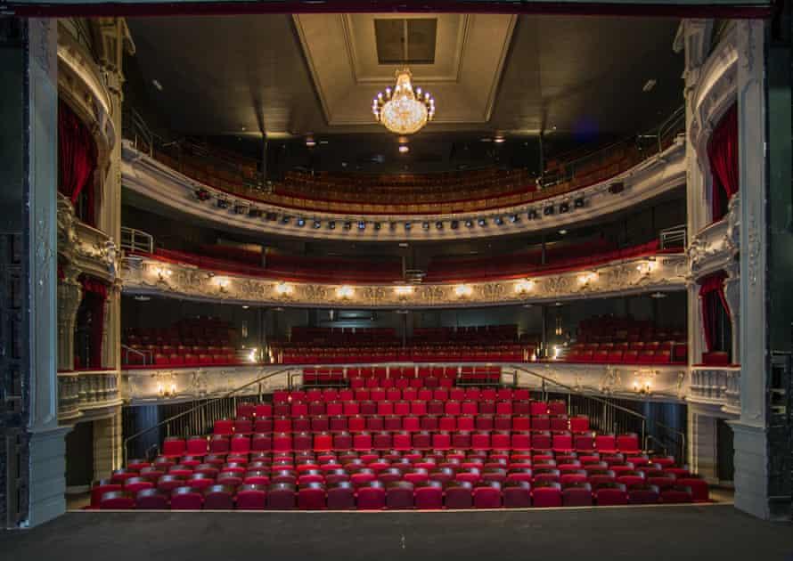 800 years on ... York Theatre Royal auditorium