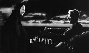 Max von Sydow and Bengt Ekerot in The Seventh Seal, 1957