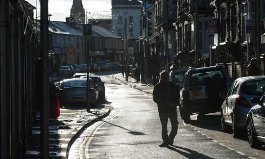 Ebbw Vale high street