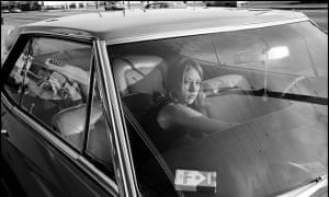 'Mandel's playful sense of humour is personified in the candid photographs' … People in Cars, 1970.