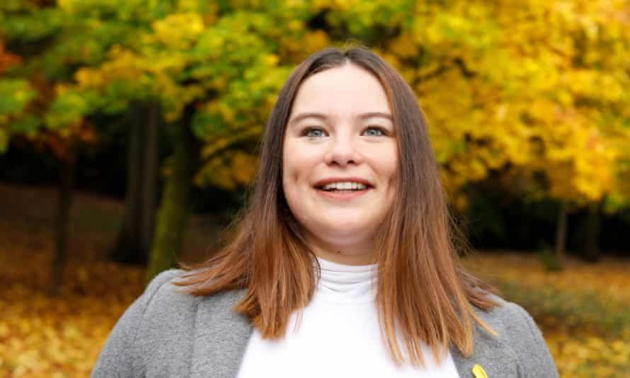 Valentina Severa Clavell, who is hoping to be selected as the SNP candidate for Shettleston in Glasgow.