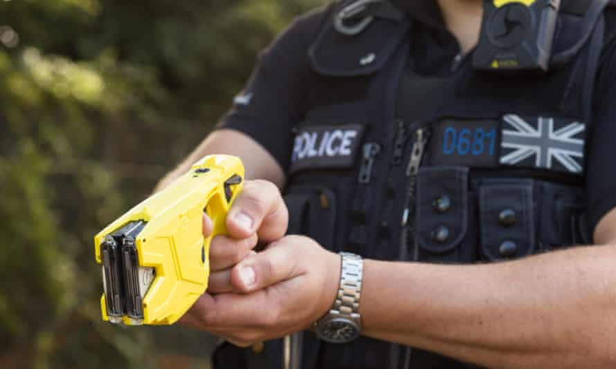 An X2 Taser electronic weapon