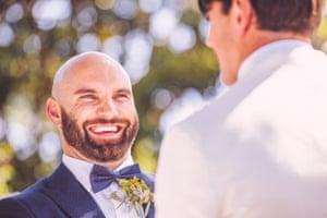 Dan and Stephen's wedding