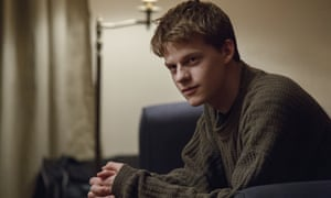Lucas Hedges in Manchester by the Sea.